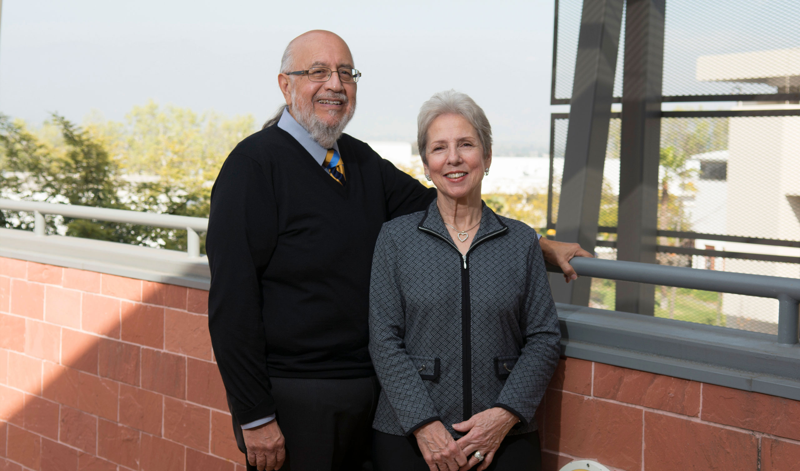 Cal State LA Alumni and Donors, The Sandoval Family