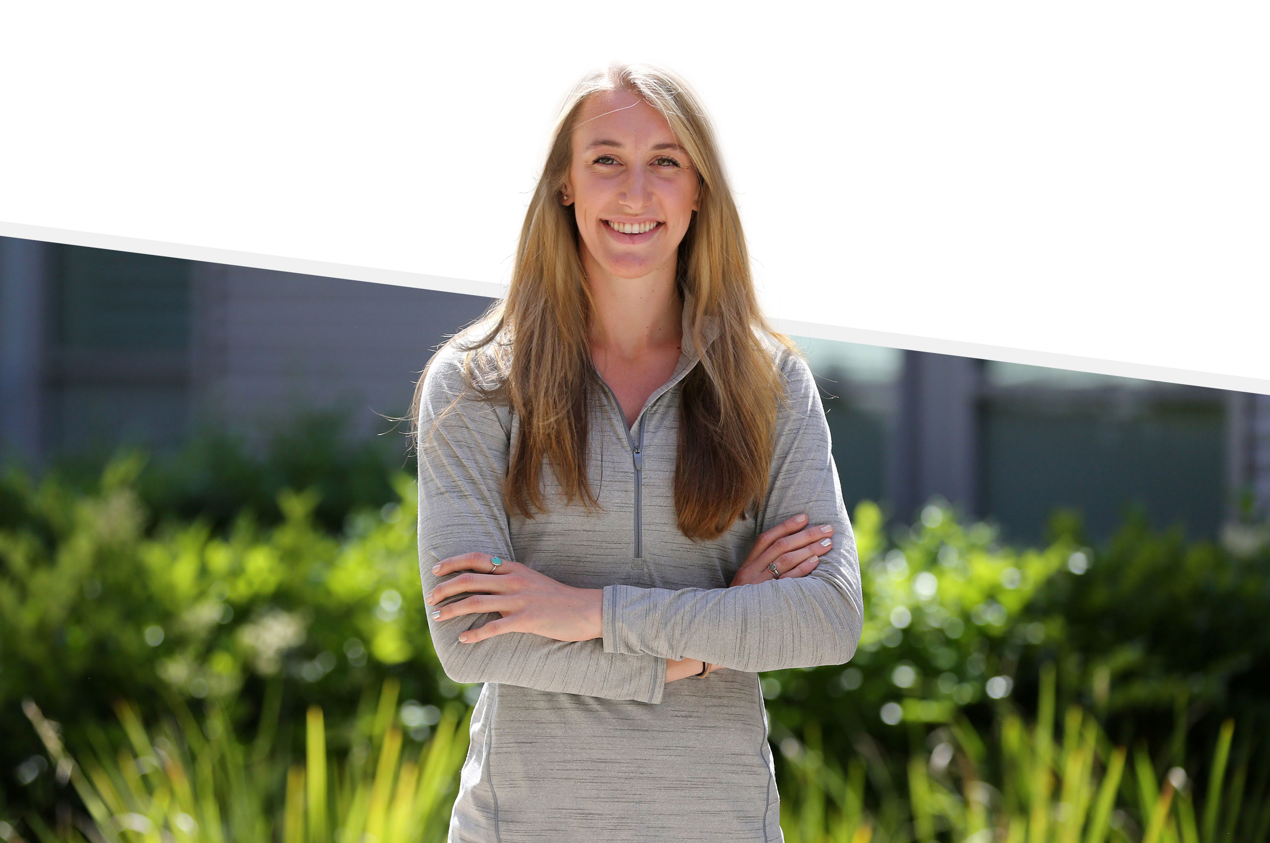 Cal State LA student and athlete and alumna, Iona Lofrano