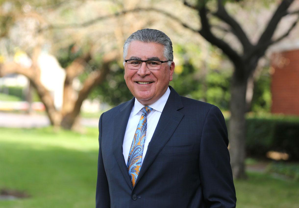 Cal State LA Alumni and Campaign Co-Chair, Richard Cordova